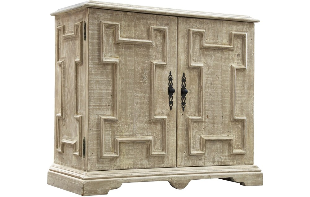 CFC - Reclaimed Lumber Gothic Accent Cabinet