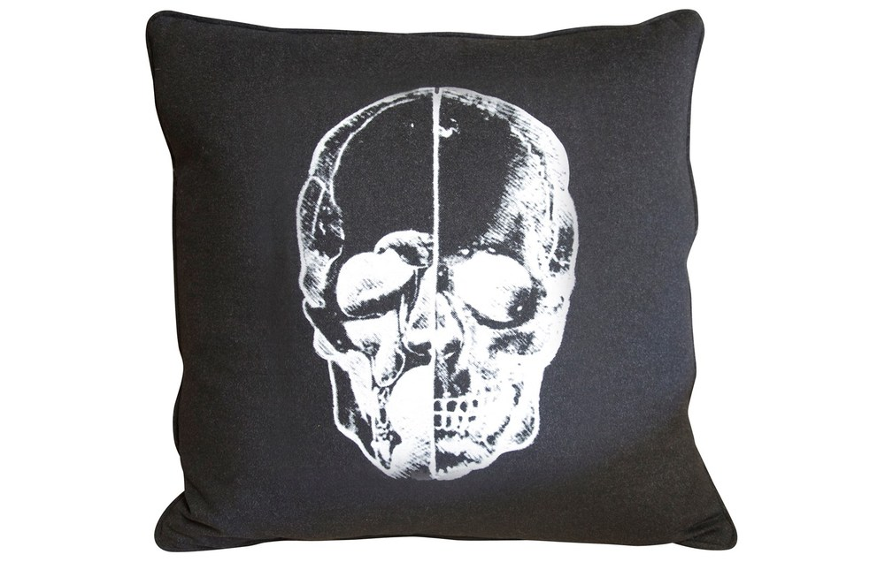 CFC - Skull Throw Pillow