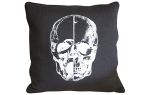 Thumbnail of CFC - Skull Throw Pillow