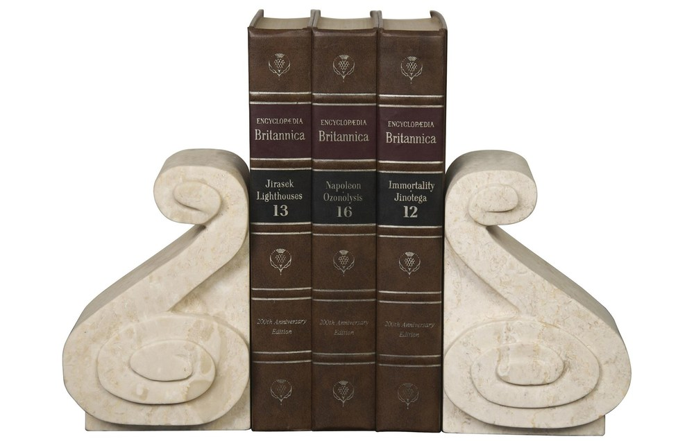 Noir Trading - Curved Bookends