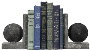 Thumbnail of Noir Trading - Black Marble Bookends