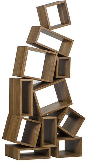Thumbnail of Noir Trading - Cubist Bookcase in Dark Walnut
