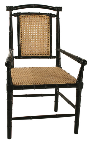 Thumbnail of Noir Trading - Colonial Bamboo Arm Dining Chair