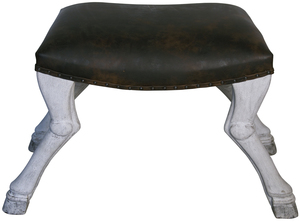 Thumbnail of Noir Trading - Claw Leg Saddle Stool