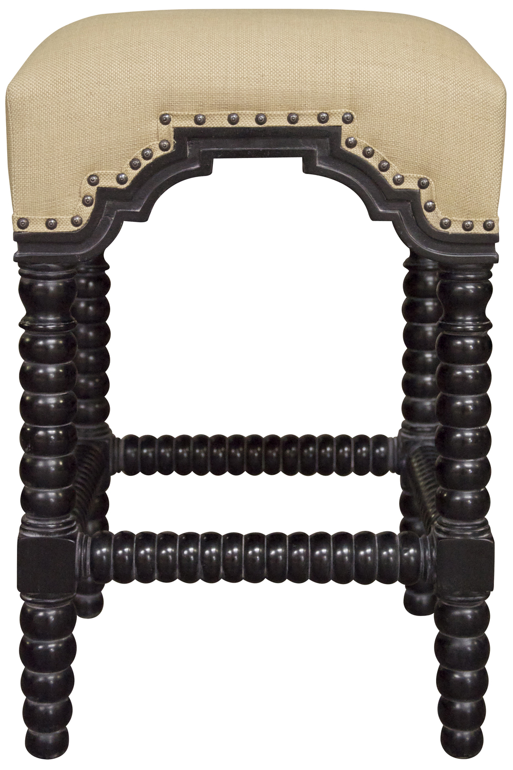 Noir Trading - Abacus Counter Stool