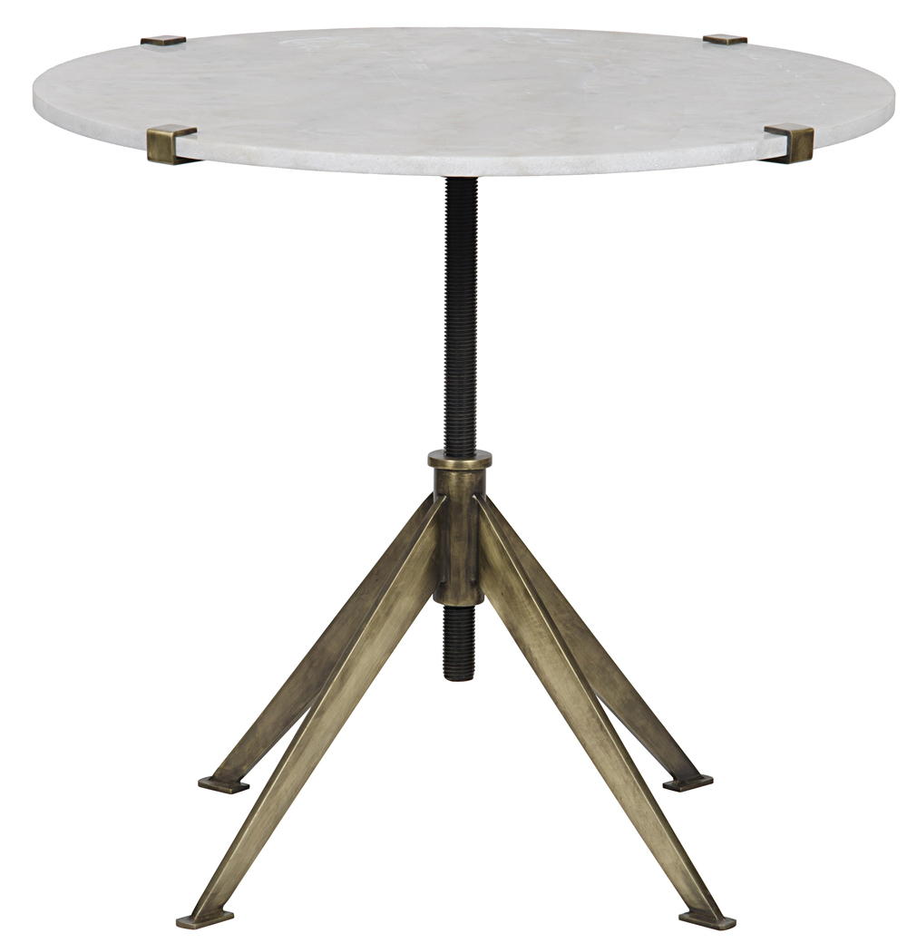 Noir Trading - Edith Adjustable Side Table