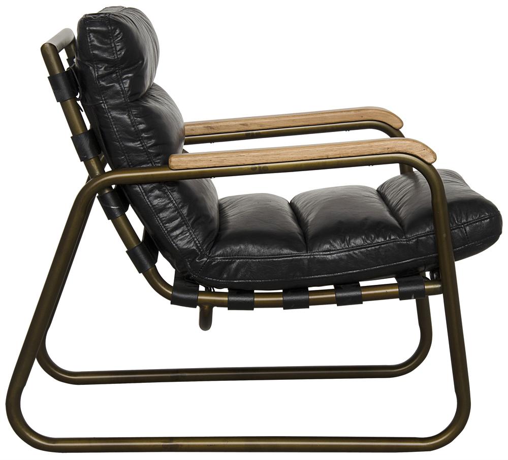 Noir Trading - Cowhide Armchair