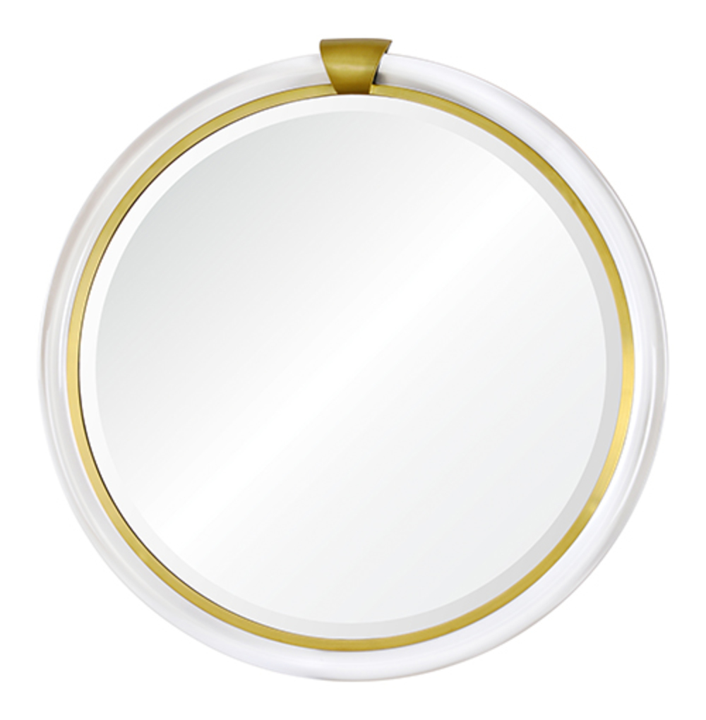 Mirror Home - Round with Keystone Mirror