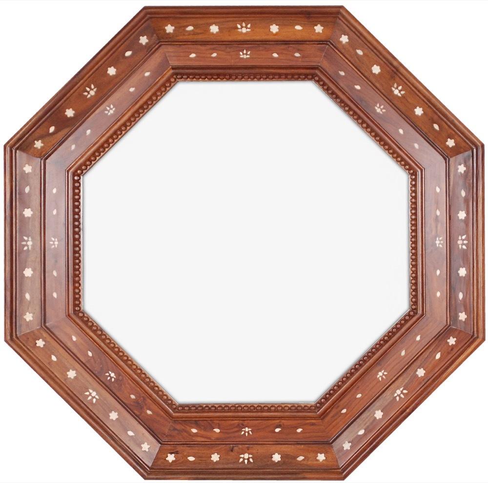 Mirror Image Home - Rosewood & Bone Mirror