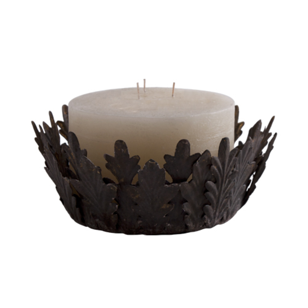 Bliss Studio - Rusted Metal Candle Drip, Large, Set/4