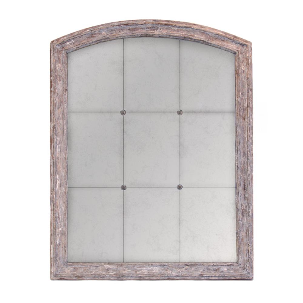 Bliss Studio - Arched Mirror with Rosettes