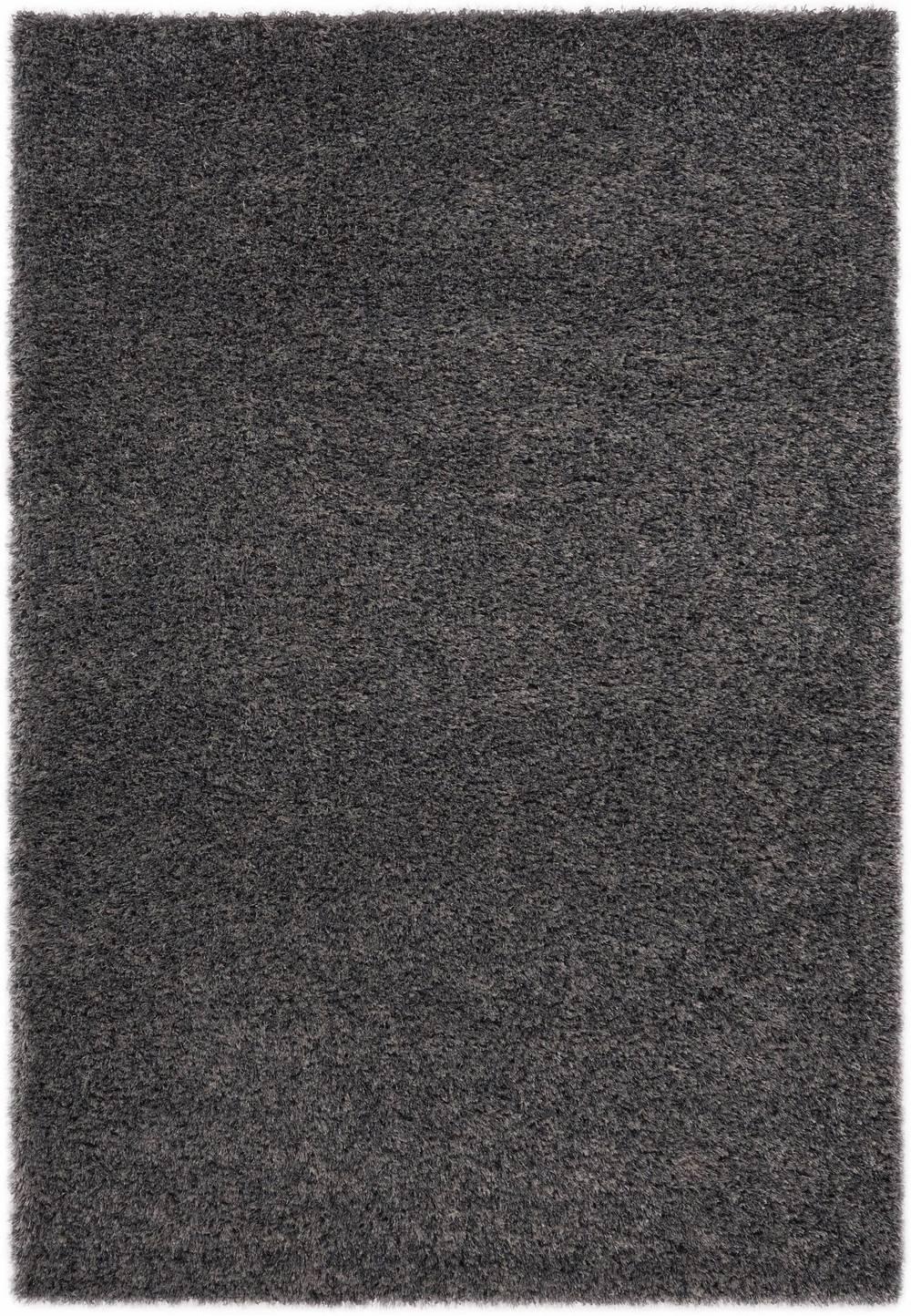 "Citak Rugs - Solid Graphite Mix 5'3"" x 7'7"" Rug"