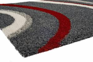 """Thumbnail of Citak Rugs - Drift Graphite and Red 5'3"""" x 7'7"""" Rug"""