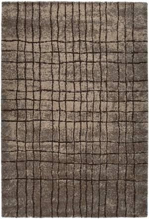 "Thumbnail of Citak Rugs - Grid Anthracite 5'3"" x 7'7"" Rug"