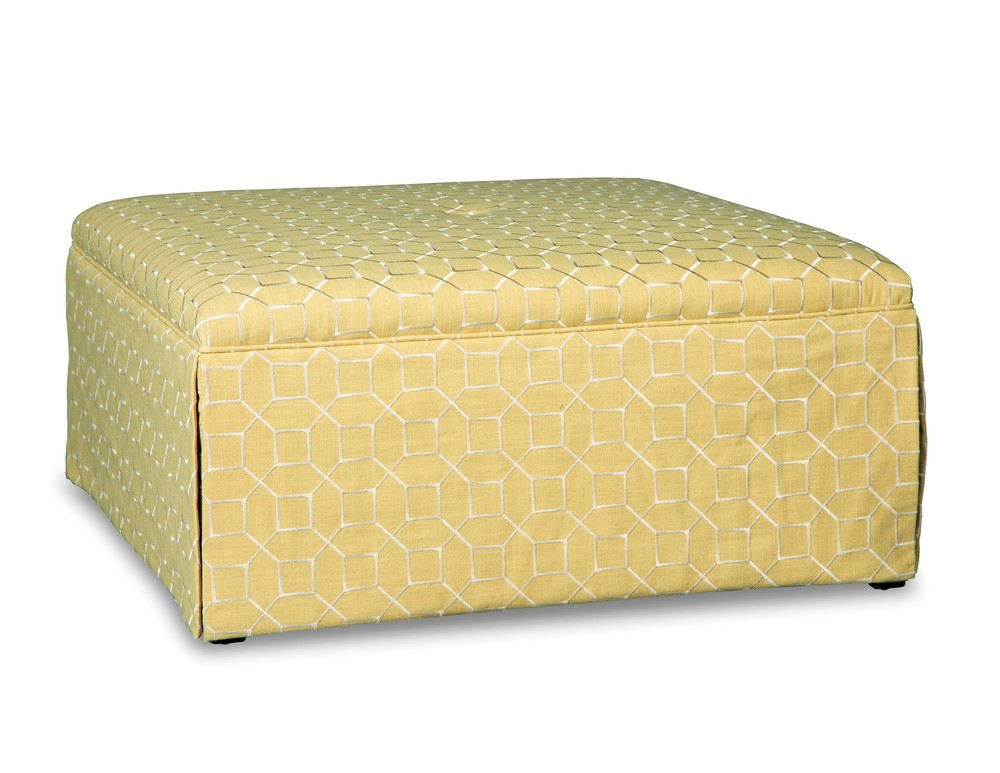 Paula Deen Home By Craftmaster - Cocktail Ottoman