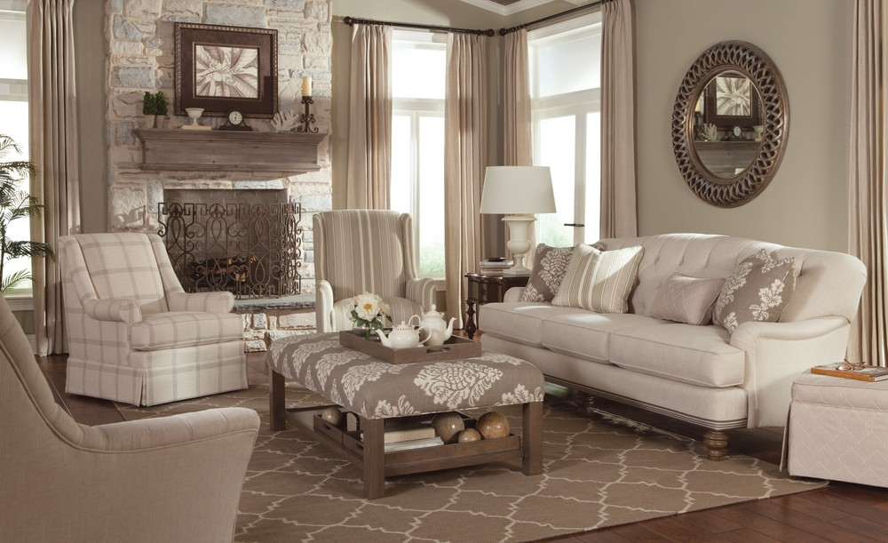Sofa By Paula Deen Home Craftmaster, Paula Deen Furniture Sofa