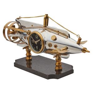 Thumbnail of Pendulux - Nautilus Table Clock, Aluminum