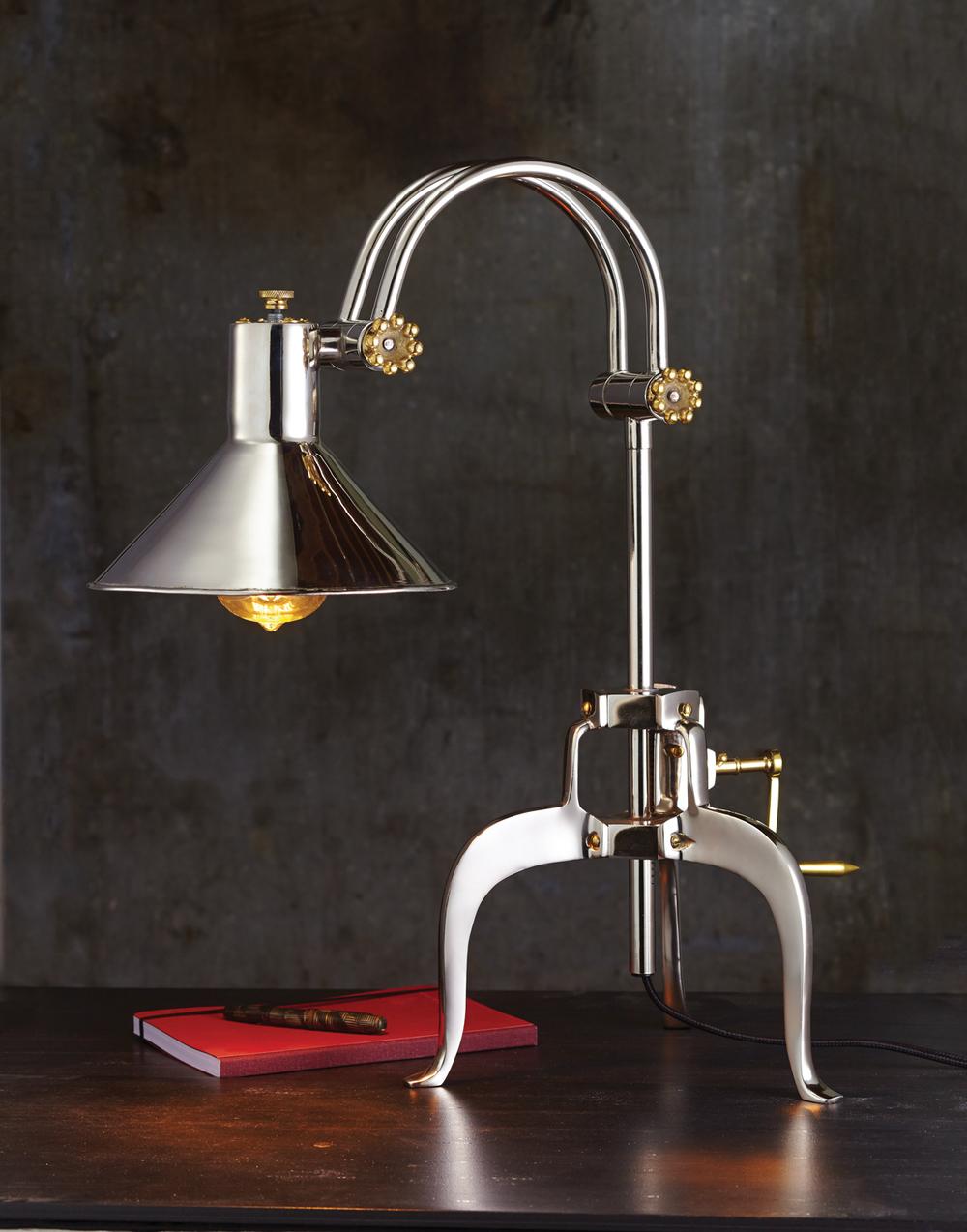 Pendulux - Berlin Table Lamp, Aluminum