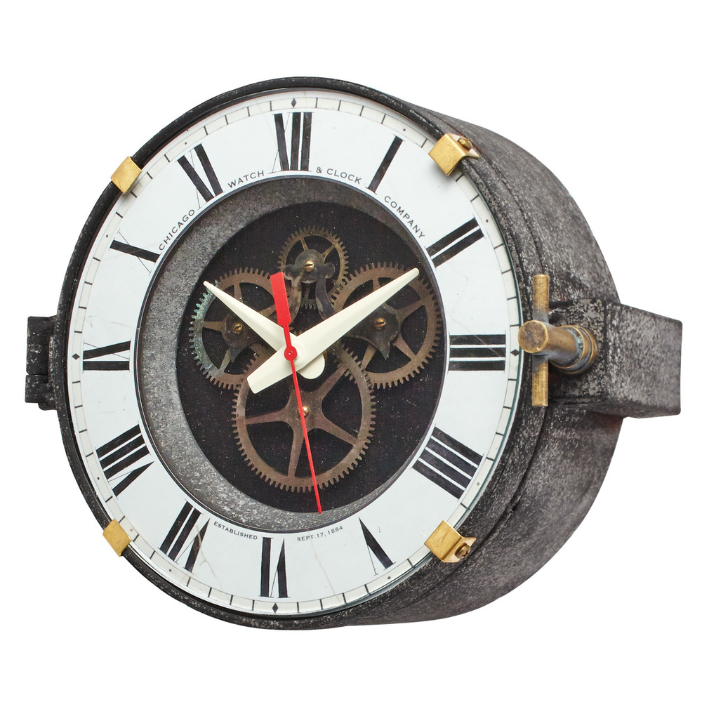Pendulux - Chicago Factory Wall Clock
