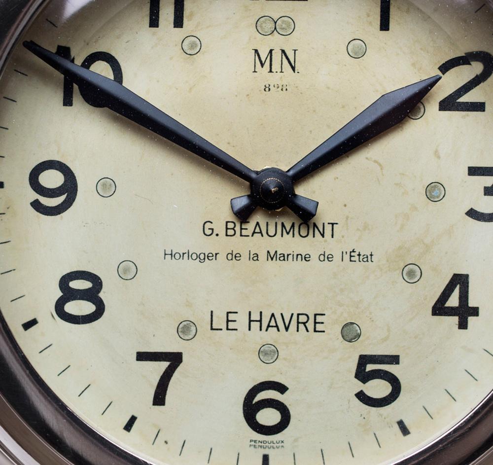 Pendulux - Deckhand Wall Clock, Aluminum