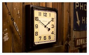 Thumbnail of Pendulux - Gas Station Clock, Black