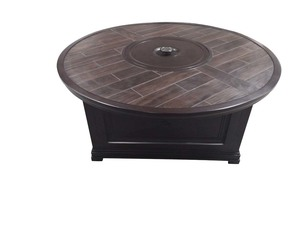 Thumbnail of Sunvilla Corporation - Bungalow Round Fire Pit Table with Porcelain Top