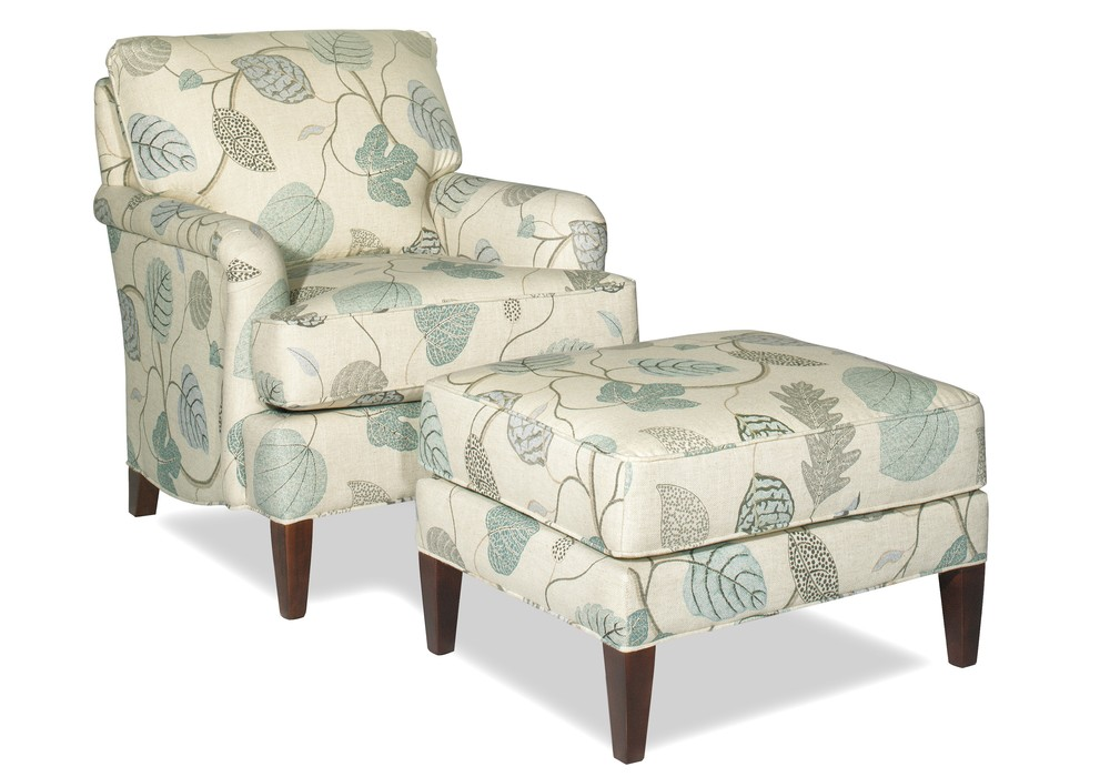 Craftmaster Furniture - Chair and Ottoman