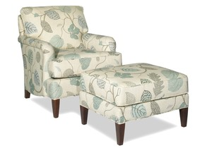 Thumbnail of Craftmaster Furniture - Chair and Ottoman
