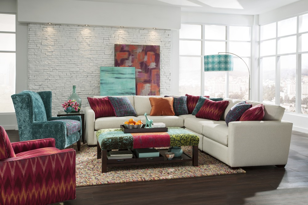 Craftmaster Furniture - Farmhouse Sectional