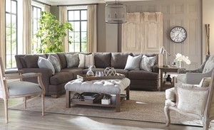 Thumbnail of Craftmaster Furniture - New Traditions LAF Sofa with Return and RAF Sofa