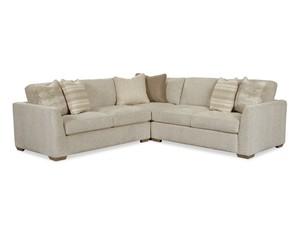 Thumbnail of Craftmaster Furniture - CM Modern Corner Sectional