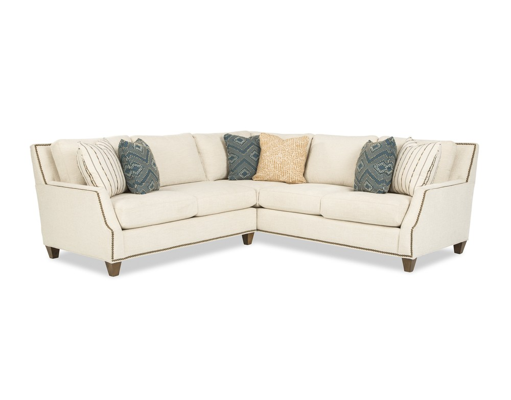 Craftmaster Furniture - New Traditions LAF Sofa with Return and RAF Loveseat
