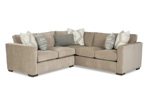 Thumbnail of Craftmaster Furniture - Modern LAF Sofa with Return and RAF Loveseat