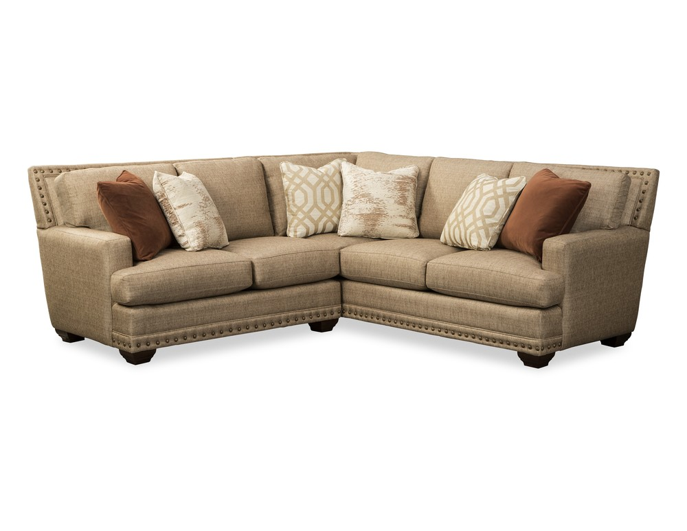 Craftmaster Furniture - New Traditions LAF Loveseat and RAF Sofa with Return