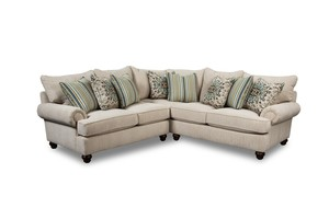 Thumbnail of Craftmaster Furniture - Craftmaster Essentials LAF Sofa with Return and RAF Loveseat