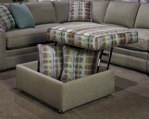 Thumbnail of Craftmaster Furniture - Lift Top Storage Ottoman