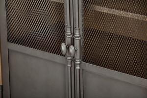 Thumbnail of Accentrics Home - Metal Door Sideboard