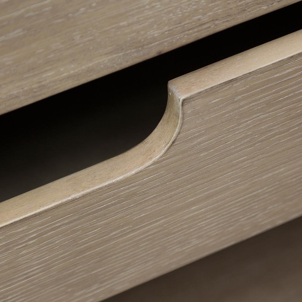 Accentrics Home - Light Oak Three Door Credenza