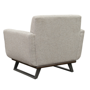 Thumbnail of Accentrics Home - Button Tufted Wood and Metal Base Chair