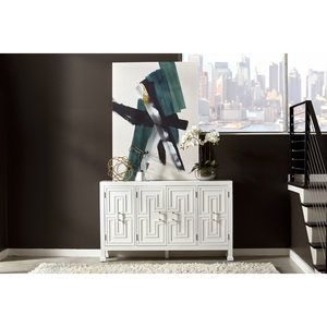 Thumbnail of Accentrics Home - Modern Geometric Four Door Credenza
