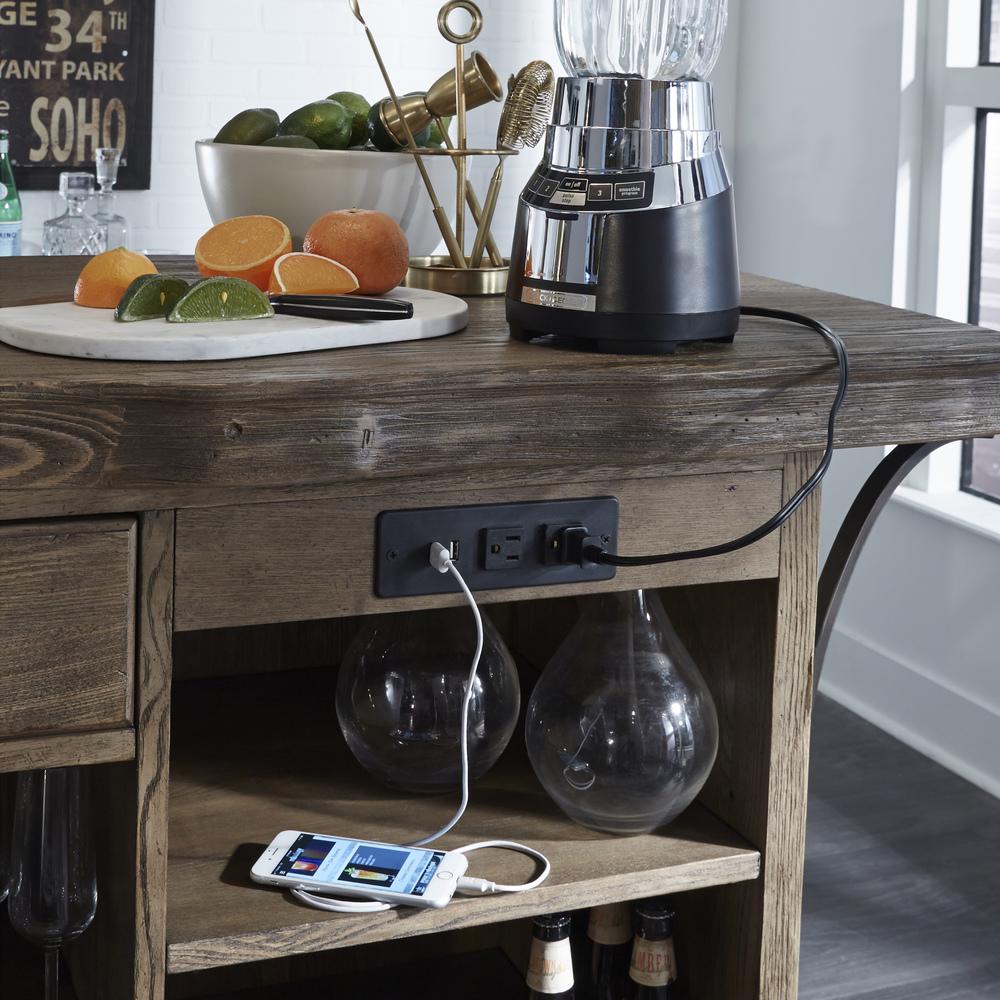 Accentrics Home - Live Edge Bar