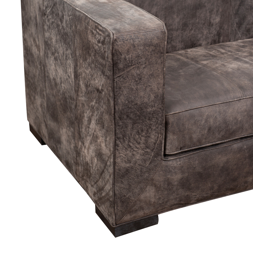 Accentrics Home - Leather Shelter Chair