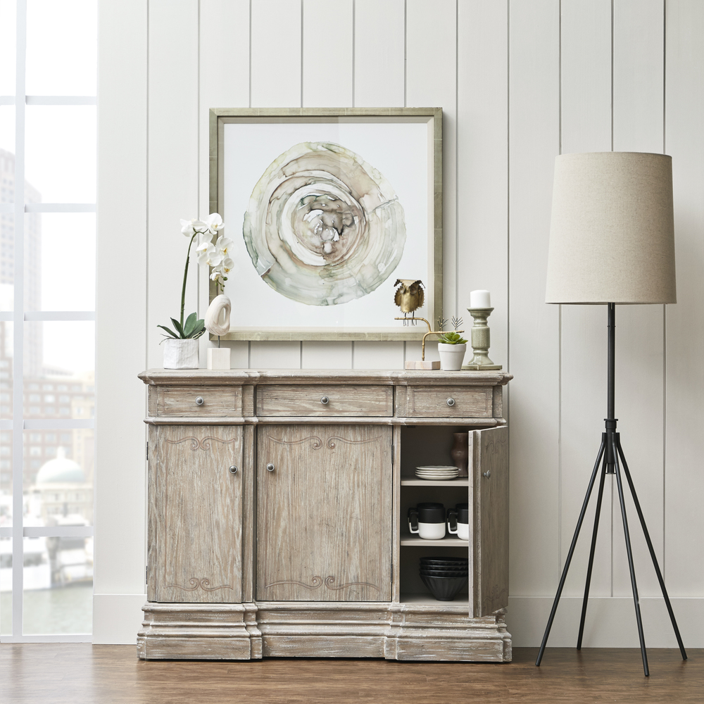 Accentrics Home - Rustic Painted Console