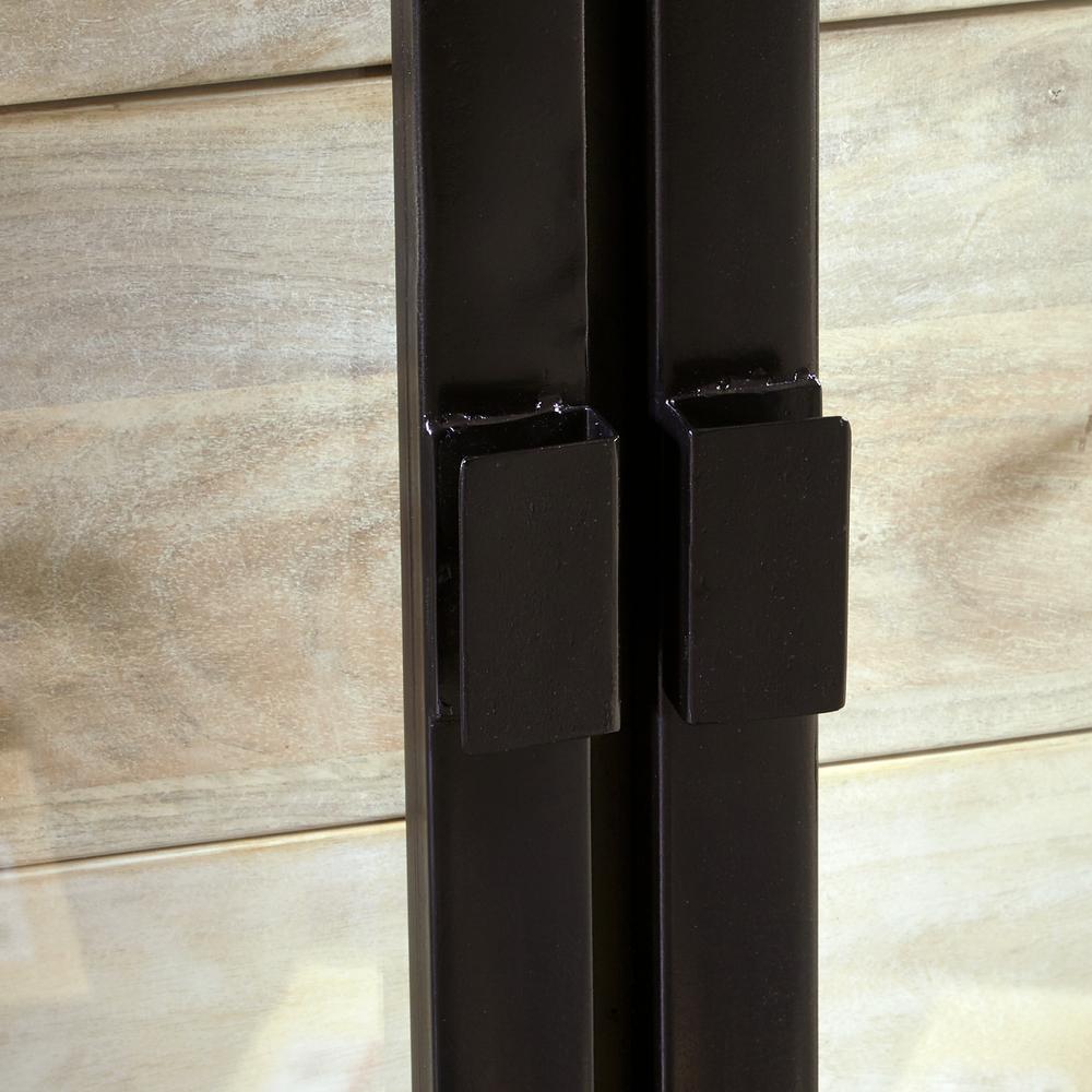 Accentrics Home - Four Door Metal Door Frame Console