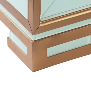 Thumbnail of Accentrics Home - Four Door Gold Trim Glass Console