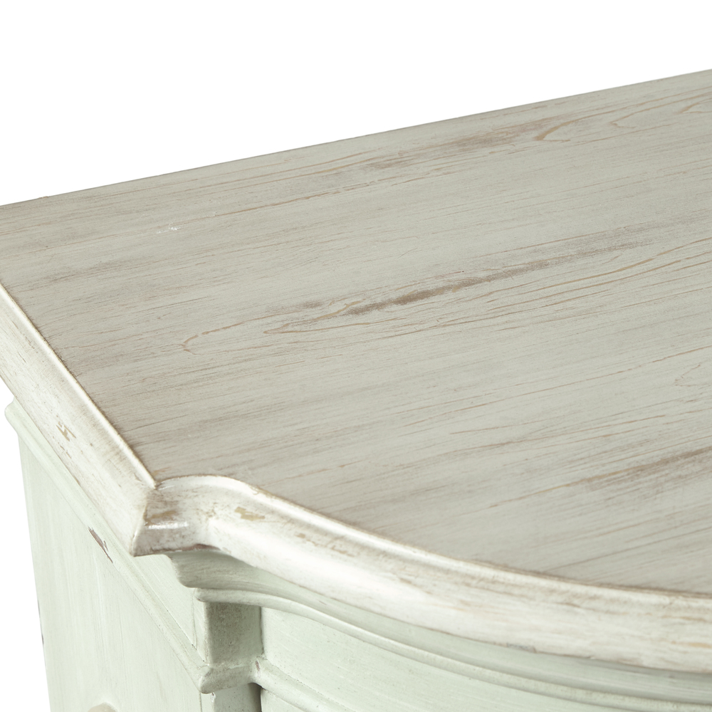 Accentrics Home - Four Door Traditional Weathered Console