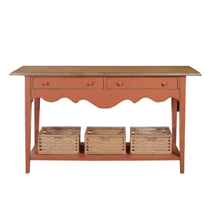 Thumbnail of Accentrics Home - Clay and Oak Console