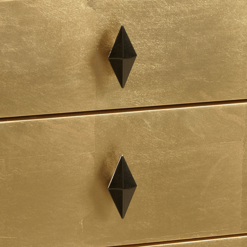 Accentrics Home - Gold Leaf Console