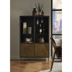 Thumbnail of Accentrics Home - Patina Metal Bar Cabinet