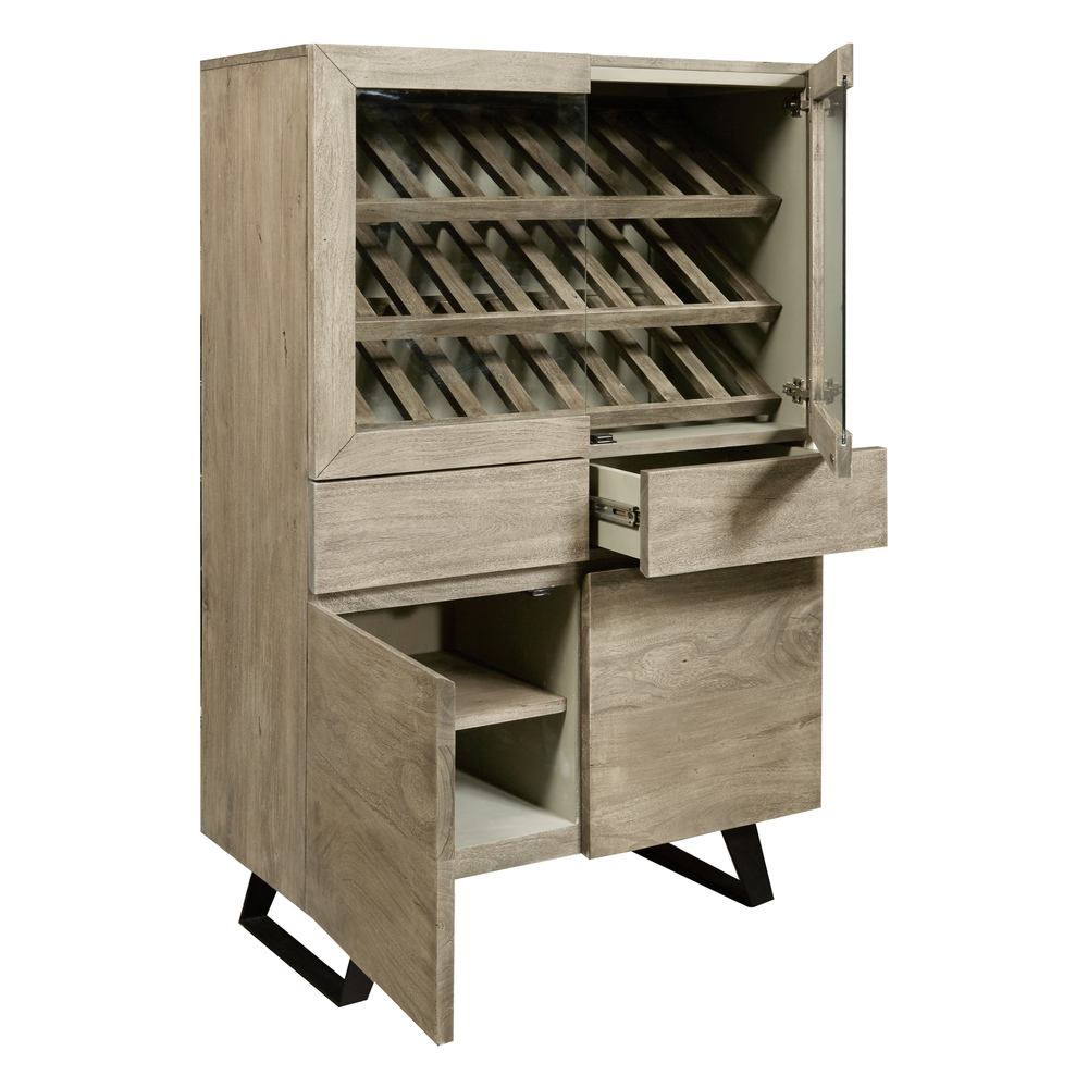 Accentrics Home - Wine Display Cabinet
